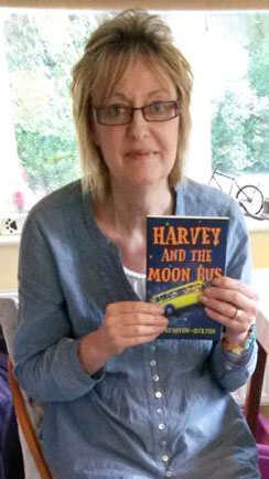 Harvey and the Moon Bus – from draft manuscript to the printed book…and beyond